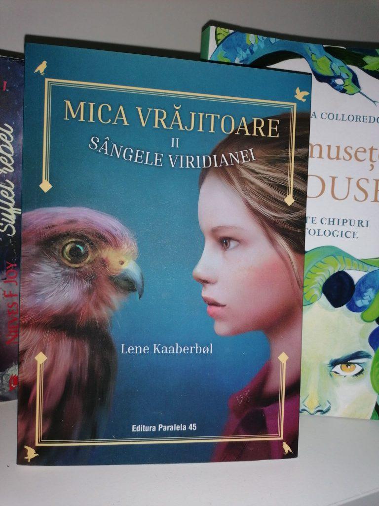 mica vrajitoare,carte copii, volumul 2 ,sangele viridianei