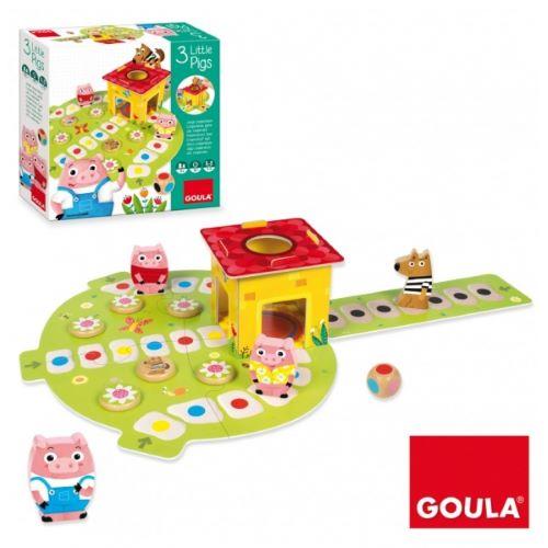 joc societate copii mici, cei trei purcelusi, jocuri si jucarii educative,